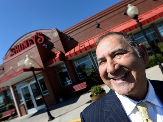 Shoney's CEO David Davoudpour says he's determined