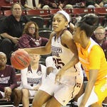 Mississippi State's Victoria Vivians was named to her third midseason player of the year watchlist on Friday.