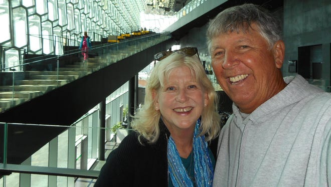 Camille Dautrich and husband Barry.