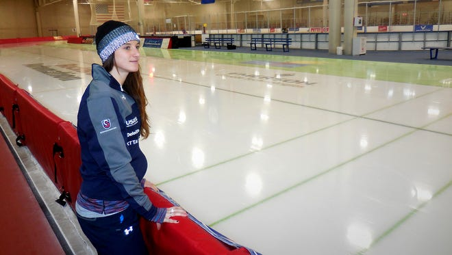 Performance mind-set coach Katherine Adamek, who won two Olympic medals in short-track speedskating, can teach you how to focus on what's important.
