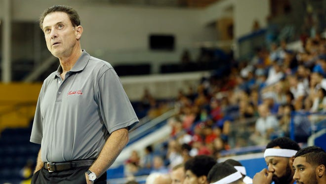 Rick Pitino has been Louisville's coach since 2001.