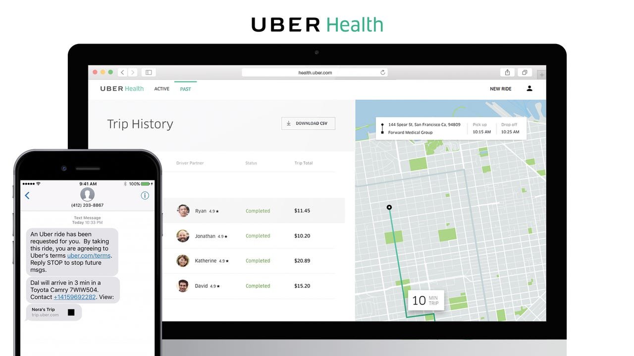 Uber launches service to get people to the doctor's office