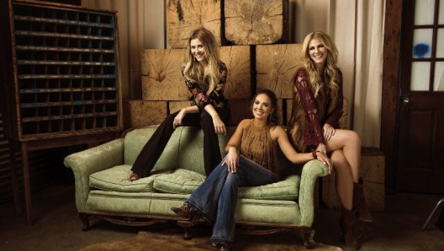 Nashville country trio Runaway June will play a free concert inside the Rusty Rudder in Dewey Beach at 9 p.m., Wednesday, Aug. 2.