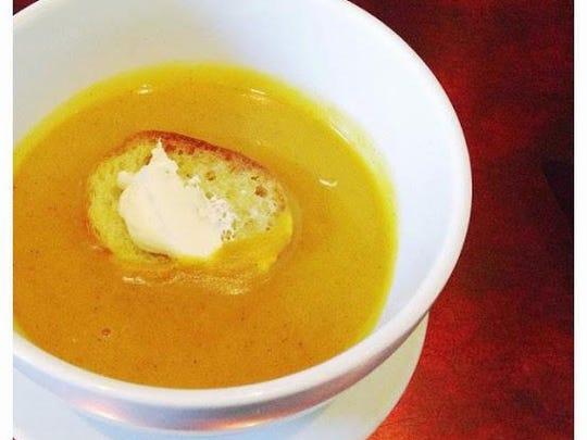Golden Nugget Squash Soup