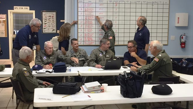 The Marco Island Senior Squadron, FL-376, Civil Air Patrol (MICAP) hosted a Search and Rescue Exercise (SAR/EX) on March 10 and 18.