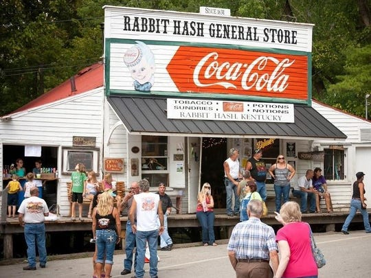The Rabbit Hash General Store's structure might be gone but hope is not. Rabbit Hash Historical Society President Don Clare said the restoration process is as far along as it can be and help keeps coming.