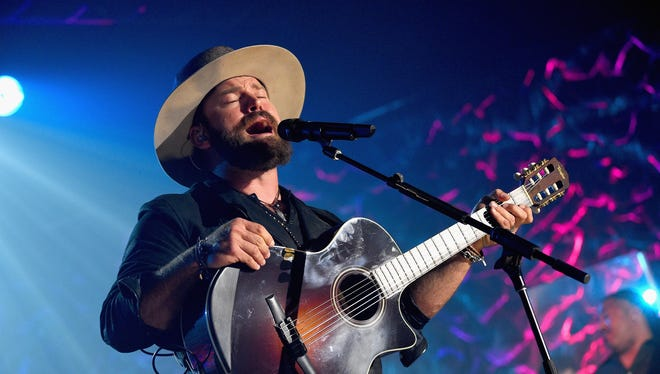 Zac Brown performs at the Songwriters Hall Of Fame 46th Annual Induction and Awards at Marriott Marquis Hotel on June 18, 2015 in New York City.