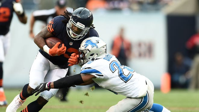 Kevin White, left, couldn't stay healthy in the NFL, and when he did make it onto the field, was unproductive.