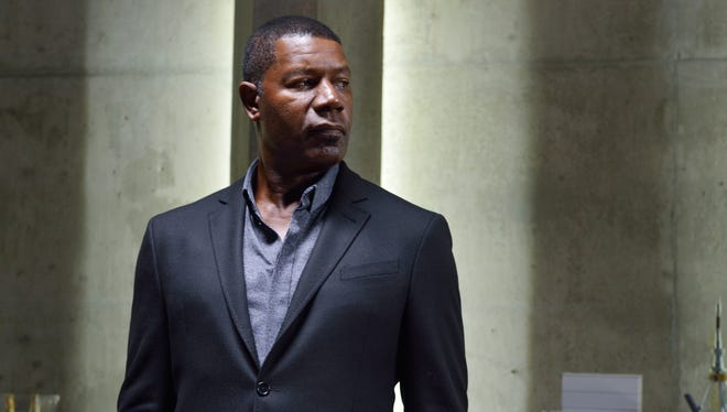 Dennis Haysbert plays corporate enforcer Julian in the Syfy dystopian drama, 'Incorporated.'