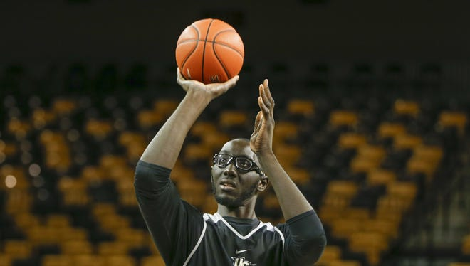 University of Central Florida Knights center Tacko Fall.