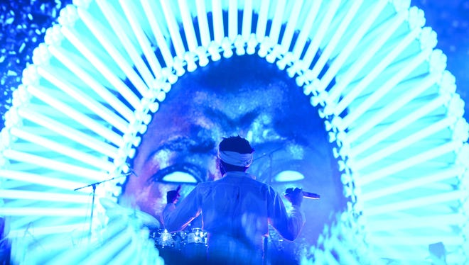 Donald Glover of Childish Gambino performs onstage during the 2017 Governors Ball Music Festival - Day 2 at Randall's Island on June 3, 2017 in New York City.