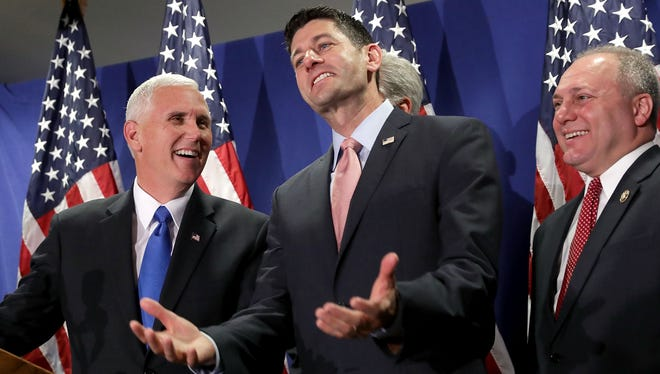 Republican leadership on Capitol Hill in 2016.