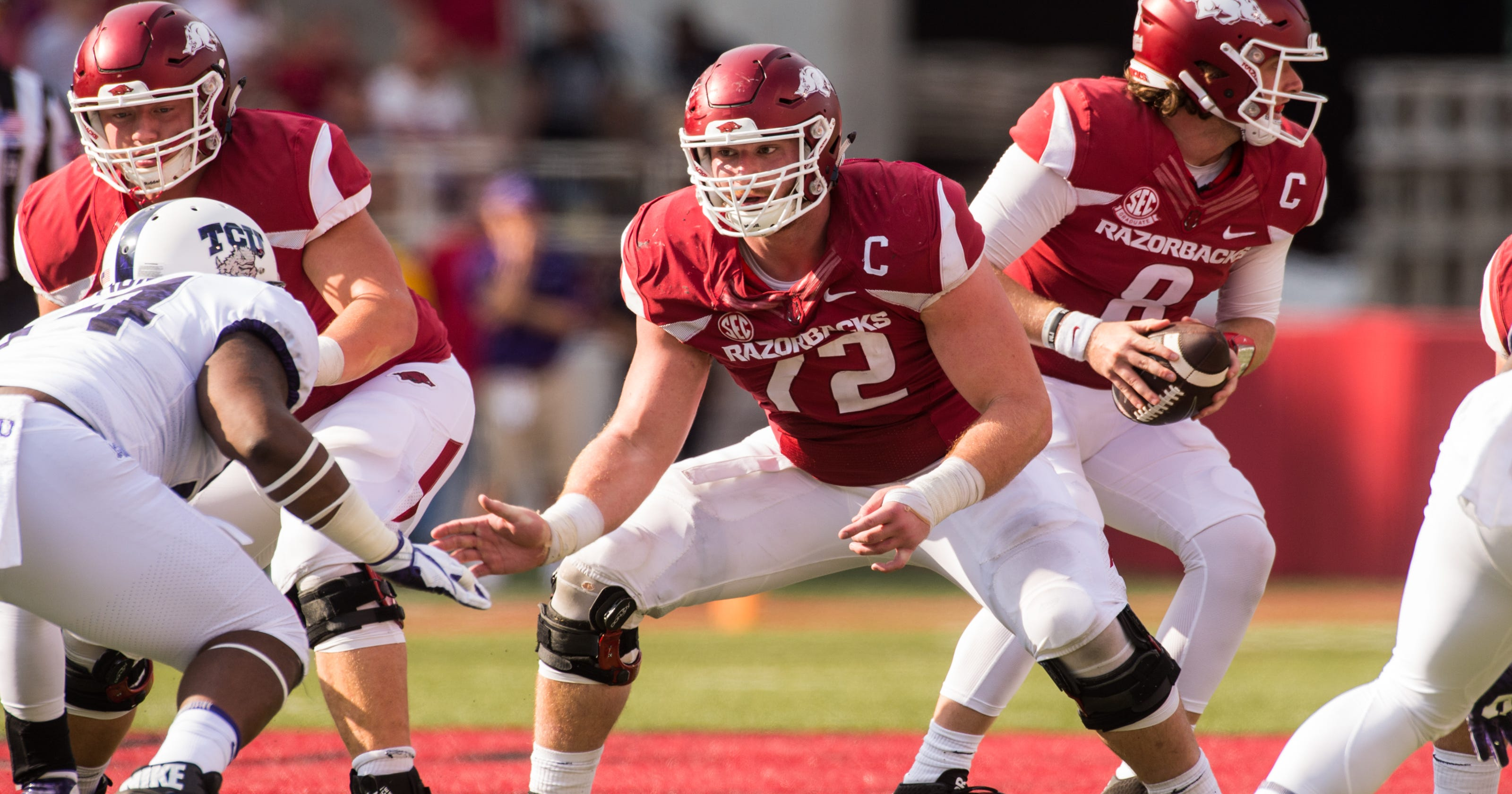 503dff4f9 Detroit Lions draft reactions  Frank Ragnow  heck of a football player