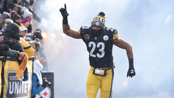 Former Pittsburgh Steelers safety Mike Mitchell (23) is set to visit the Arizona Cardinals.
