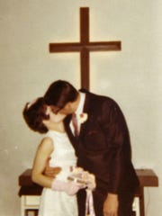 Larry and Judi DeWees married on April 8, 1971, less than a month after they met on a blind date.