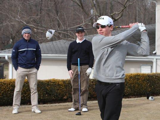 Tappan Zee golf practice March 2014