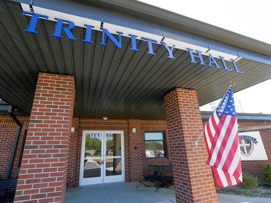 Exterior of Trinity Hall, a girls private high school,