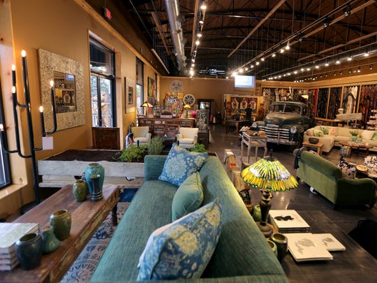 Lots of new and antique furnishings can be had at the store called The Show at Leon and Lulu in Clawson in the former Clawson theatre next door to the existing store. The expansion will have over 1000 greeting cards, full service framing, Michigan items and a cafe.  Wednesday, September 28, 2016.