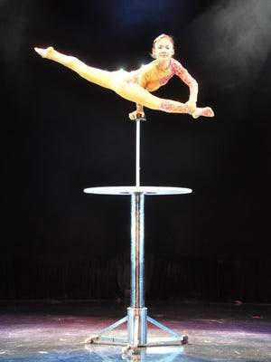 Cirque D'Or performs Tuesday at the Clemens Center in Elmira.