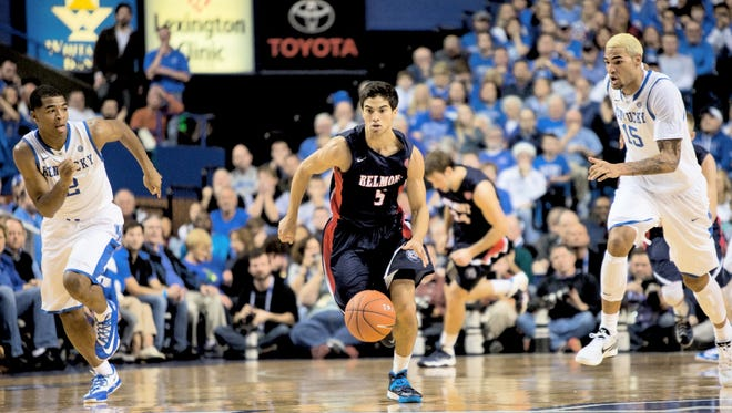 Caleb Chowbay is transferring from Belmont to Martin Methodist where he will have two years of eligibility left.