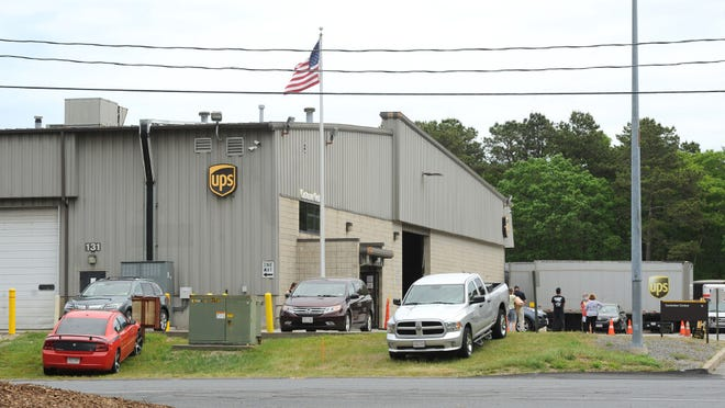 WEST YARMOUTH -- 06/11/20 -- The UPS distribution facility is located on Ansel Hallet Road.