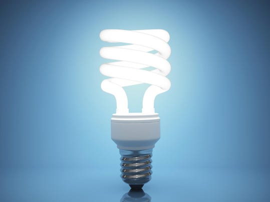 What is the proper way to dispose of fluorescent light bulbs?