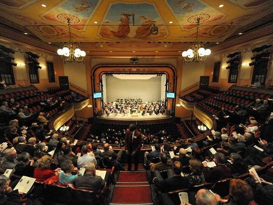 The Delaware Symphony Orchestra will perform at The Grand's largest fundraiser of the year, the Grand Gala. This year marks the event's 40th edition.