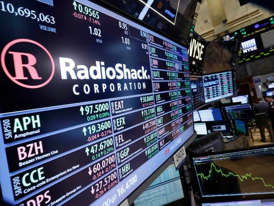 Radio Shack Stock Drop