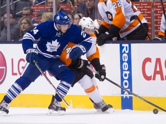 Flyers Leafs Hockey
