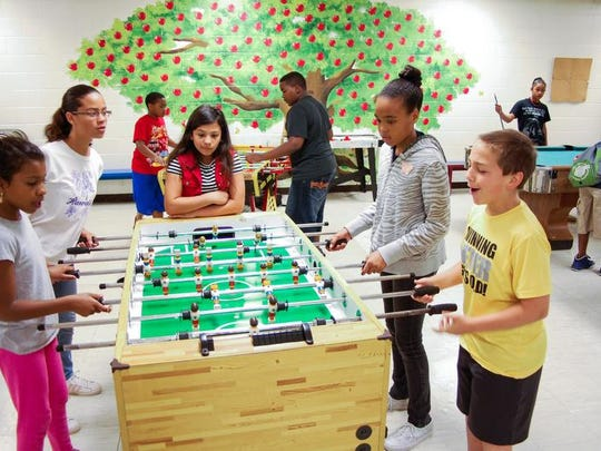 Clarksville's Summer Youth Program, during a previous year.