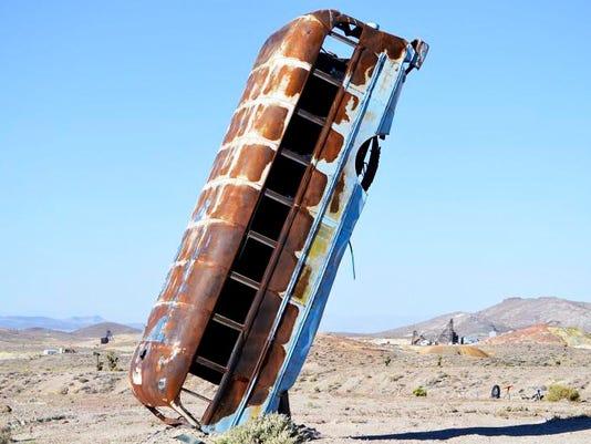 Junkers in Desert-Art Display