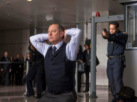 """James Spader as """"Red"""" Raymond Redding ton in NBC's """"The Blacklist."""""""