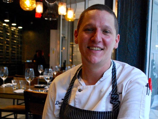 Deacon's New South executive chef Travis Sparks.