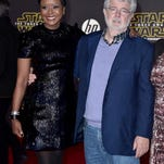 'Force Awakens' movie gets red carpet