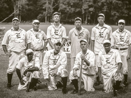 Middlesex County Office of Culture and Heritage will combine sports and history in a special Father's Day weekend celebration. To commemorate 160 years of baseball, the county will present a free baseball game June 17 in Johnson Park, Piscataway, using 1857 rules and regulations. The game will feature the Diamond State Base Ball Club of Delaware vs. the Elizabeth Resolutes Base Ball Club (pictured).