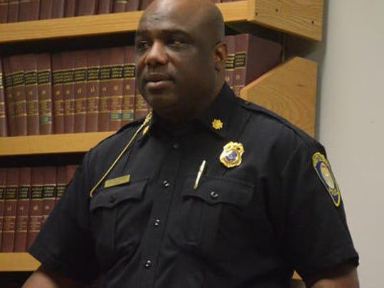 Major Austin Simons of the BAttle Creek Police Department