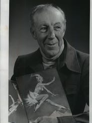 """Harland """"Pokey"""" Waddell, shown in this 1976 photo,"""