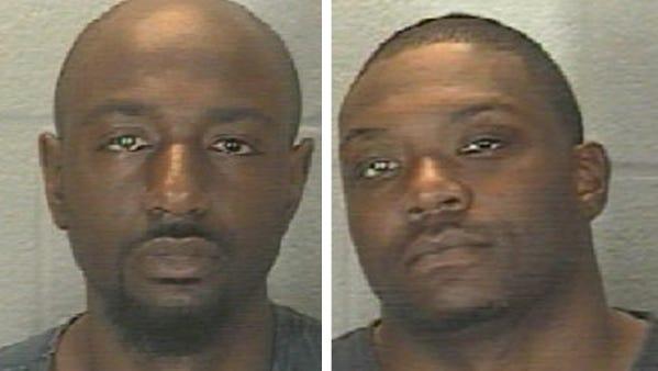 Elyvin Cortez Jackson (left) and Cornelius Maurice Thompson.