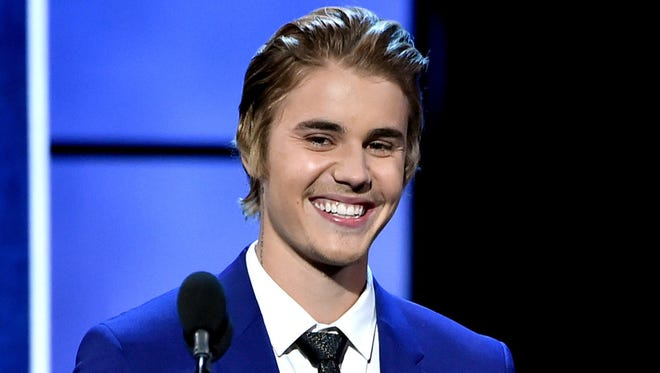 Singer Justin Bieber appears onstage at the Comedy Central Roast of Justin Bieber at Sony Studios on March 14 in Culver City, California.