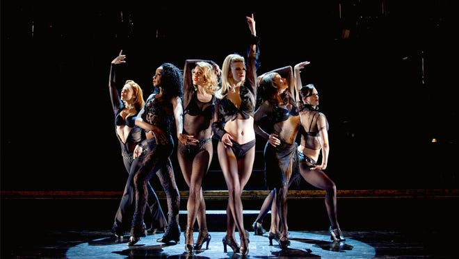"""The women of the musical, """"Chicago."""""""