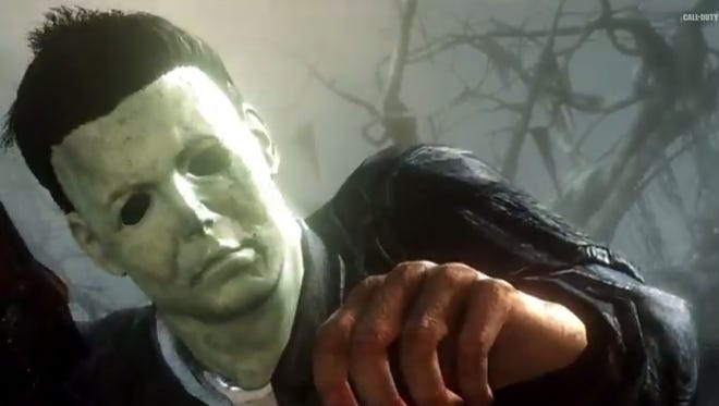 Michael Myers (of the 'Halloween' horror series) will be a playable character on a new map in the upcoming 'Call of Duty: Ghosts' DLC pack 'Onslaught.'