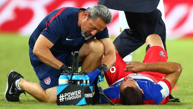 Not all head injuries were treated correctly at the 2014 World Cup, according to a new study.