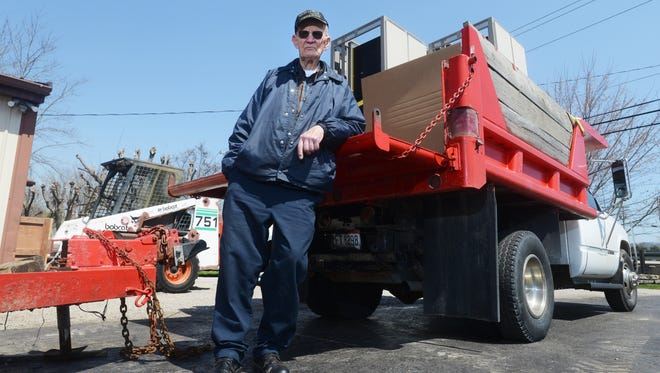 J.R. Jones was nominated for the Jefferson Award, which is awarded to those involved in charity work, for his decades long work recycling scrap metals and donating the proceeds to a variety of charities.