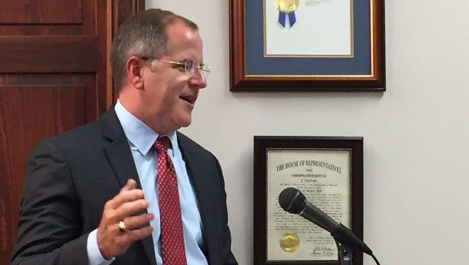 Kenton County Judge-executive Kris Knochelmann