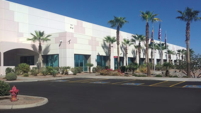The Coca-Cola Co. occupies this Monmouth Real Estate Investment Corp. building in Phoenix.