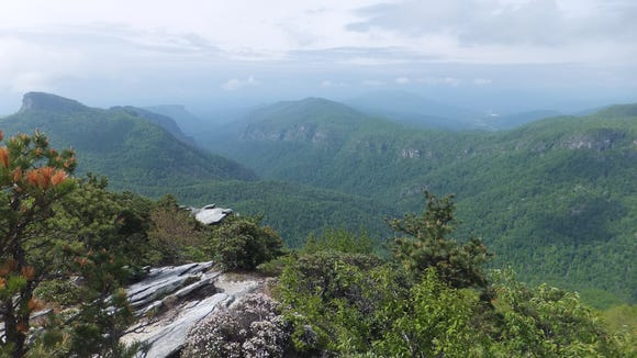 Linville Gorge Wilderness is one of six designated wilderness areas in Western  North Carolina.