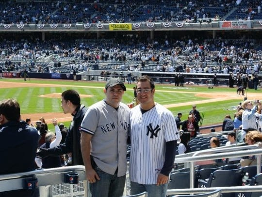 Anthony D'Ambrosio is a huge Yankees fan.