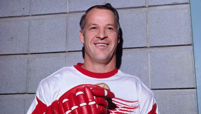 A signed Gordie Howe jersey was stolen from a Canadian rink over the weekend.