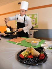 Future chef competition, hosted by Vineland schools