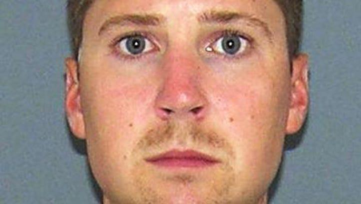 Ray Tensing, 25, a University of Cincinnati police